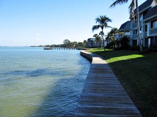 Sanibel Island condo photo - The Boardwalk just outside your sliding doors