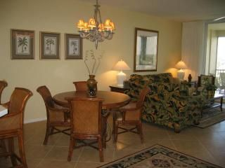 Naples condo rental - .Great room with Tropical interior.