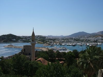 Gumusluk villa rental - Amazing views of Bodrum from St Peters Castle