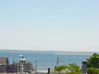 Provincetown condo photo - Roof deck water-view. Harbor, Long Point and on to Cape Cod