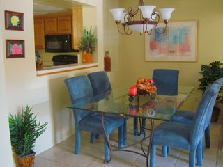 Scottsdale condo photo - Dining room easily seats 6 or more