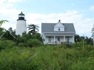 Castine cottage photo - Easy walk to Dyce Head Lighthouse in Castine