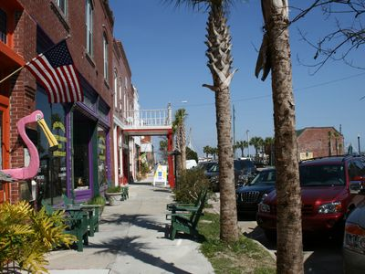 Colorful Downtown Apalachicola