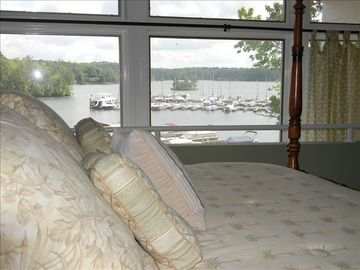Wake up to this gorgeous view every morning in your master bedroom.