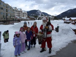 Keystone condo photo - Visit with Santa and his Reindeer!