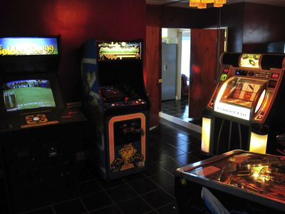 Game room will provide hours of fun for everyone!