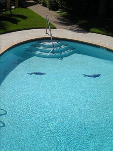 A newly renovated pool