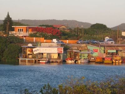 Wattstraat Villa as seen from The Aruba Nautical Club