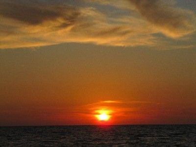 One of our magnificent Captiva sunsets.
