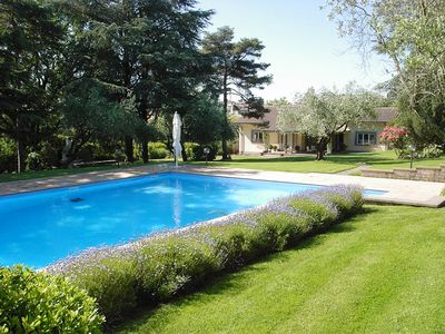 Villa Oliva Independent house for rent with swimming pool in Bracciano