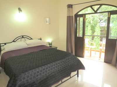 02) Private 1 Bedroom Apartment, Nazri Resort, Close to Baga Beach