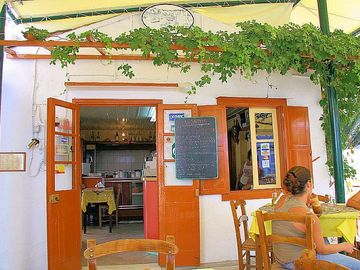 The Owner's Taverna in Lakka