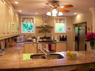 Avon-by-the-Sea house photo - Main kitchen, another view