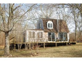 Gayhead - Aquinnah cottage photo - Large Backyard (2.3 acres-very private)