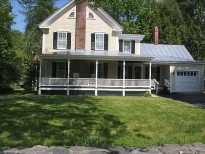 Lovely antique colonial with an inviting farmer's porch.