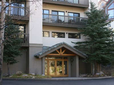 Beaver Creek condo rental - Townsend Place entrance