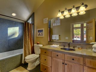 Carnelian Bay house photo - Master Bath w/jetted tub/shower