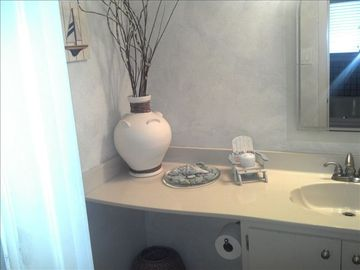 Vanity in downstairs master bath