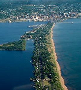 "Duluth house rental - The ""Beach Cottage"" is on Lake Superior's longest beach Duluth, Minnesota"