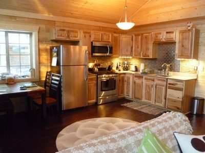 Talkeetna cabin rental - Dining/Kitchen area