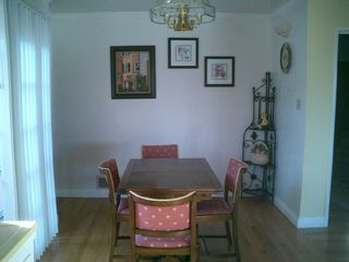 Monterey house photo - Dining room with extendable table