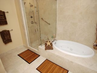 Gateway Grand Ocean City condo photo - Pamper Yourself w/a Jacuzzi Bath or Dual Shower!
