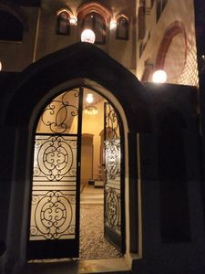 Luxor villa rental - Entrance to courtyard