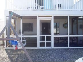Manahawkin house photo - screened in porch off Tikki Bar Room