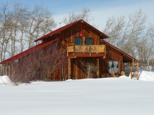 Driggs cabin rental rustic cabin in country setting with for Teton cabin rentals