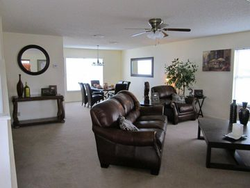 View of Living and dinning rooms.