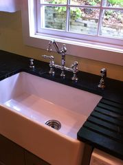 Pilot Knob cottage photo - Farm sink with soapstone counters