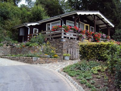 image for Charming chalet with veranda, terrace, large garden and beautiful view