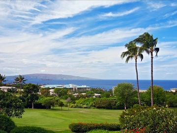 Wailea condo rental - View from the Living Room and Main Lanai