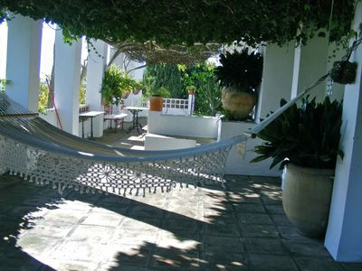 Frigiliana cottage rental - hammock