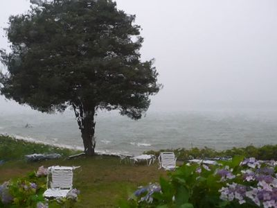 Hampton Bays house rental - A stormy day