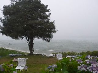 Hampton Bays house photo - A stormy day
