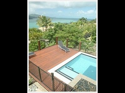 Hamilton Island villa rental - Your villa's private pool with the ocean below