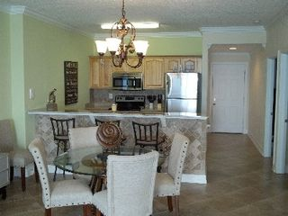 Ocean Reef condo photo - View from den to kitchen