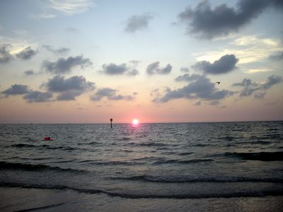 Clearwater apartment rental - Come and relax with a beautiful sunset!