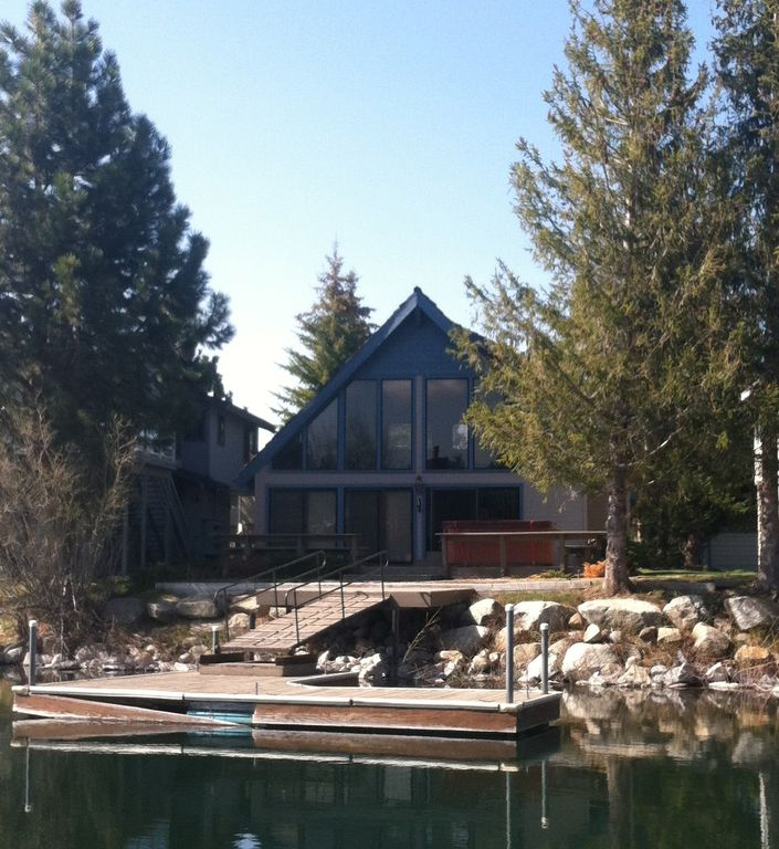 Lake Tahoe Vacation Rentals On The Water: The View Of The BrinzerHaus From The Water. 1 Of 22
