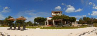 Isla Mujeres estate photo - view from beach