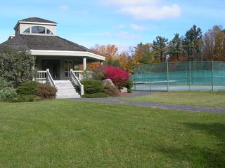 Poconos Pines - Pinecrest Lake townhome photo - tennis courts and private club