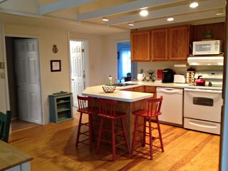 Oak Bluffs house photo - Open kitchen with breakfast bar