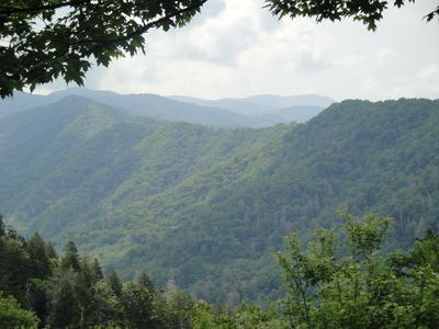The Great Smoky Mountains in the National Park.