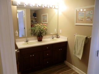 Bel Mare Ocean City condo photo - bathroom with double sink and shower/tub