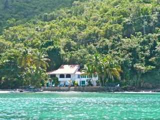 Tortola house photo - House from water