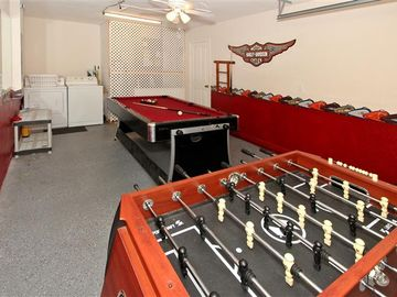 Games Room and Utility Area.