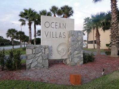 Main Entrance to Ocean Villas