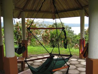 Nuevo Arenal house photo - Enjoy the gazebo- birds and monkeys to watch
