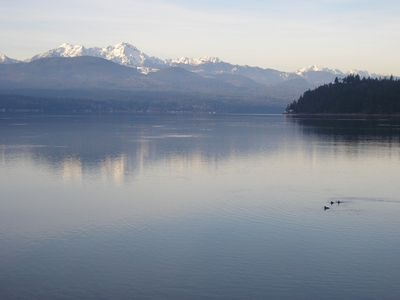 The Great Bend of Hood Canal as seen from the Union City Beach House